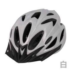 "Thumbnail of ""自転車用 ヘルメット 白 子供 大人 サイクリング マウンテンバイク"""