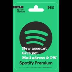 "Thumbnail of ""Spotify premium 1ヶ月"""