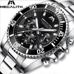 "Thumbnail of ""【 1点限り❗】MEGALITH クォーツ クロノグラフ 腕時計"""