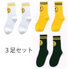 "Thumbnail of ""スマイル 靴下 ソックス"""