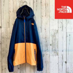 "Thumbnail of ""ノースフェイス 子供服 ナイロンパーカー ネイビー×オレンジ キッズ150"""