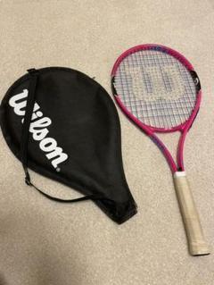 """Thumbnail of """"Wilsonジュニア ウィルソン キッズ テニスラケット BURN PINK25"""""""