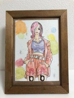 """Thumbnail of """"ワンピース ONE PIECE 手書きイラスト ファンアート 2L判"""""""