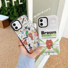"""Thumbnail of """"Brown  iPhone11 ケース    透明"""""""