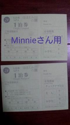 エミオン東京ベイ ほほえみの湯 1泊券×2枚セット