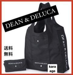 """Thumbnail of """"【新品】 DEAN&DELUCA エコバッグ ショッピング 折りたたみ ブラック"""""""
