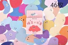 "Thumbnail of ""海外ステッカー 糖豆小可愛 46枚 シール"""