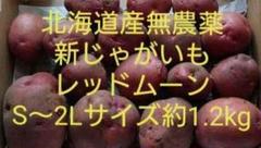 """Thumbnail of """"北海道産無農薬新じゃがいもレッドムーンS〜2Lサイズ約1.2kg"""""""