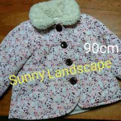 """Thumbnail of """"値下げ!Sunny Landscape 90cmピンク花柄中綿アウター"""""""
