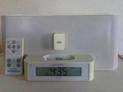 "Thumbnail of ""SONY RDP-NW1 FM・AMラジオ付きウオークマン用ドックスピーカー"""