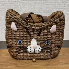 "Thumbnail of ""ルートート カゴバッグ 猫 美品"""