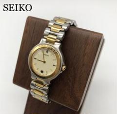 SEIKO セイコー シルバー 時計 レディース お洒落 良品 ブランド時計