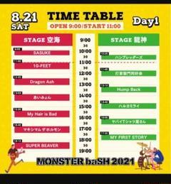 """Thumbnail of """"モンバスチケット 8月21日 2枚"""""""