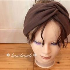 """Thumbnail of """"*handmade*即購入OK☆大人用クロスターバン ヘアバンド ターバン"""""""