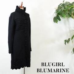 "Thumbnail of ""OF0011 BLUGIRL BLUMARINE ニット 黒"""