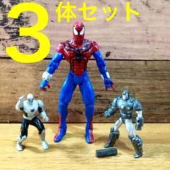 "Thumbnail of ""TOYBIZ社製 スパイダーマン ヴィンテージ フィギュア  3体セット"""