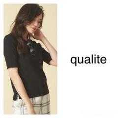 """Thumbnail of """"*美品*◆qualite◆ウォッシャブルベーシックニット"""""""