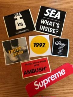 """Thumbnail of """"SUPREME&SEA&youthloser&STUSSYステッカーセット"""""""