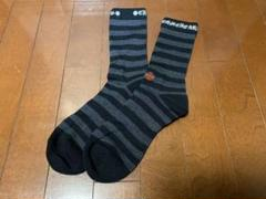 "Thumbnail of ""クロムハーツ 靴下 黒グレーボーダー L"""