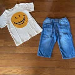 "Thumbnail of ""エフオーキッズスマイルTシャツ、パンツセット130"""