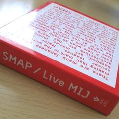 "Thumbnail of ""SMAP/Live MIJ〈3枚組〉"""