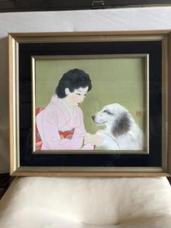 "Thumbnail of ""絵画 少女と犬 NHK特集⁉️"""
