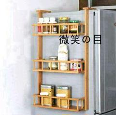"Thumbnail of ""9冷蔵庫ハンガー側壁ハンガー収納棚キッチン用品棚調味=\35"""