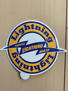 "Thumbnail of ""希少 雑誌 Lightning ステッカー"""