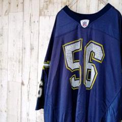 "Thumbnail of ""【a188】USA古着90sリーボックReebokNFLアメフトゲームシャツ"""