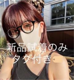 """Thumbnail of """"【y/m × なとりか】伊達メガネ ブラック"""""""