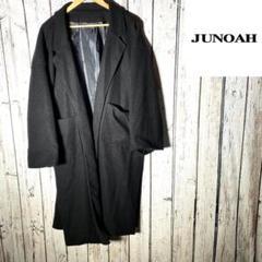 """Thumbnail of """"JUNOAH ジュノア ラップコート ジャケット コート ブラック"""""""