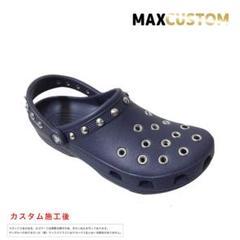 """Thumbnail of """"クロックス crocs カスタム ネイビー 22~30cm 新品 クラシック"""""""