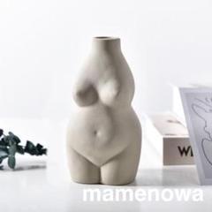"Thumbnail of ""韓国 北欧 フラワーベース 彫刻 ヌード ボディ 花瓶 アンティーク 置物 雑貨"""