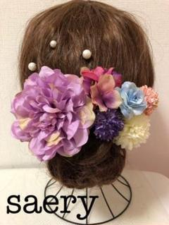 "Thumbnail of ""No.103  UピンSET 髪飾り 結婚式 成人式 卒業式 前撮り 和装"""