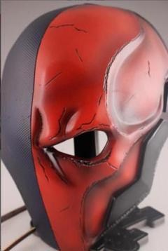 "Thumbnail of ""【倉庫移転、在庫のみ、傷あり】Deathstrokeマスクヘルメット 新"""