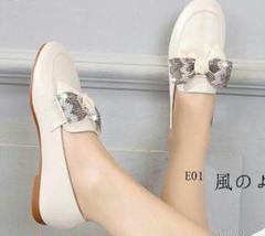 """Thumbnail of """"s-新品 レディース革靴  大きいサイズ ミュラー靴 フラットシューズ  モ1"""""""