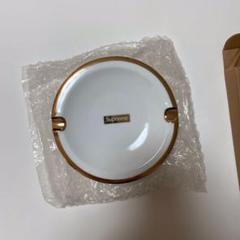 "Thumbnail of ""新品 17awシュプリームGold Trim Ceramic Ashtray灰皿"""