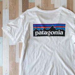 """Thumbnail of """"patagonia パタゴニア Tシャツ S/S 半袖 Lサイズ ホワイト 白"""""""