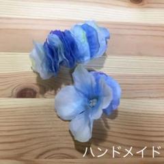"""Thumbnail of """"ハンドメイド ヘアアクセサリー アジサイ"""""""
