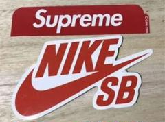 """Thumbnail of """"Nike SB & supreme シュプリーム ステッカー セット"""""""