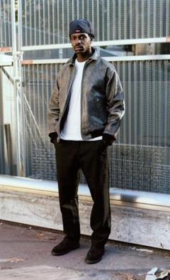 "Thumbnail of ""Supreme Vanson Worn Leather Jacket"""