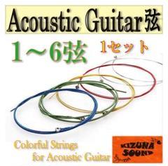 "Thumbnail of ""【新品・即購入OK】ギター弦6本セット アコギ用"""