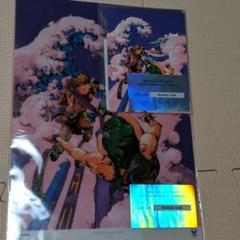 "Thumbnail of ""東京2020 公式アートポスター 荒木飛呂彦 クリアファイル&ポストカード"""