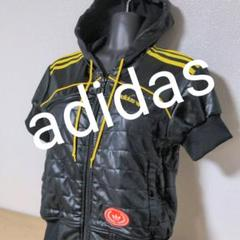 "Thumbnail of ""aa71.  adidas originals 半袖パーカージャージ黒"""