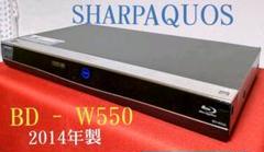 "Thumbnail of ""シャープAQUOS≪BD ‐ W550≫◆大容量☆500GB ◆Wチューナー搭載"""