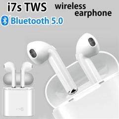 """Thumbnail of """"i7s 白 コードレスイヤホン Bluetooth 通勤 通学 運動 ランニング"""""""