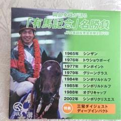 "Thumbnail of ""岡部幸雄が語る「有馬記念」名勝負 極小DVD"""