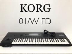 "Thumbnail of ""【名機】KORG PCM音源 シンセサイザー 01/W FD"""