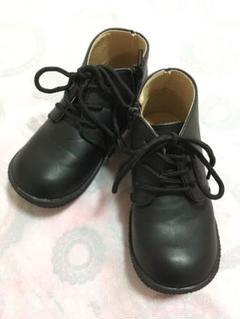 "Thumbnail of ""黒 ブーツ サイズ18cm"""