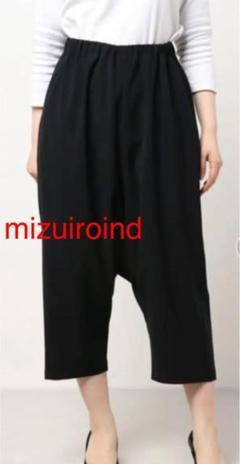 "Thumbnail of ""【mizuiroind】  サルエルパンツ ブラック"""